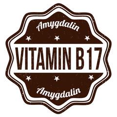 Vitamin B17 stamp