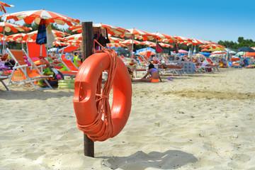 salvagente spiaggia
