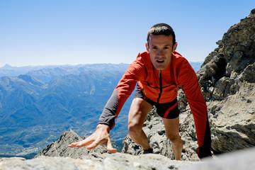 Corsa in montagna trail running