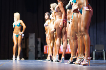women body fitness competition