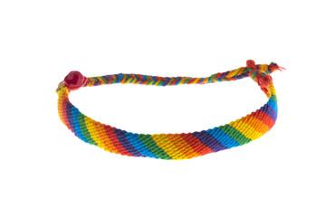 Handmade colorful gay-lesbian bracelet