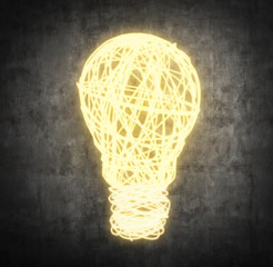 wire bulb