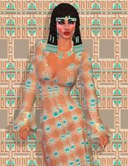 Cleopatra, Egyptian modern digital art