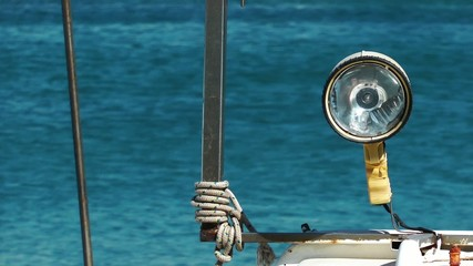 Lamp on Fishing Boat