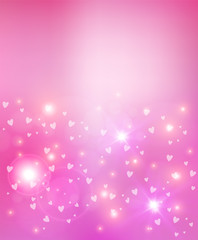 Valentines day heart abstract background