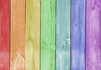 Wood plank colorful texture background