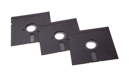 Old computer diskette