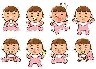 赤ちゃん ポーズ