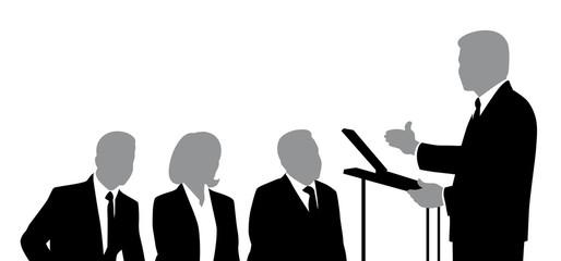 Speaker and Listeners