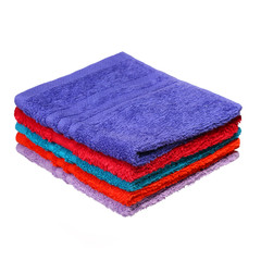 Bathroom Towels isolated on white background