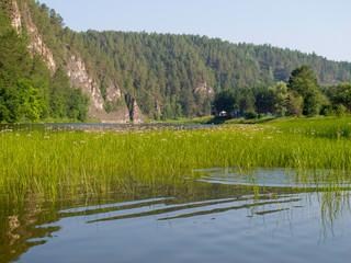 Река Ай. Летний пейзаж.