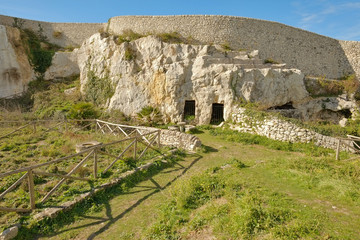 Archaeological Park Of Akrai In Palazzolo Acreide, Sicily