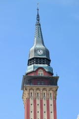 Clock Tower City Hall In Subotica, Serbia