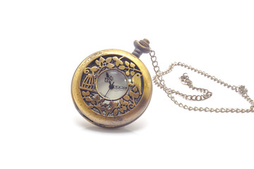 Old dirty pocket watch