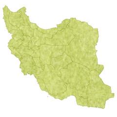 イラン 地図 国