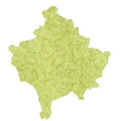 コソボ 地図 国