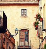 Charming street in Tarragona