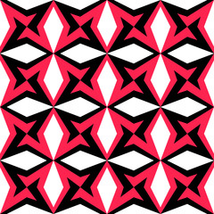 Abstract Star Pattern