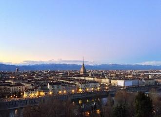 Torino al crepuscolo