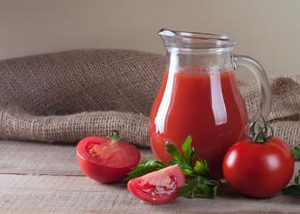jar with tomato