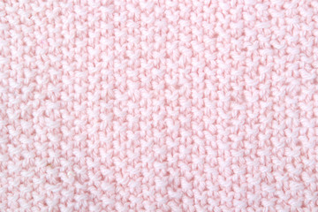 Knitted pink pattern