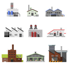 Industrial buildings flat