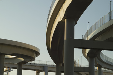 Curve of highway