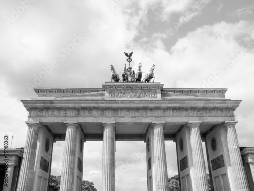 canvas print picture  Brandenburger Tor Berlin
