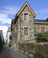 Medieval town Nyon