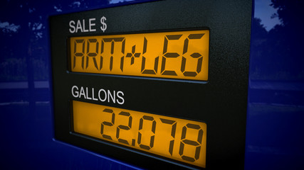 Costs of gas are an arm and a leg