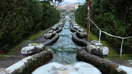 Fountain Of The Chain Villa Lante Bagnaia Italy