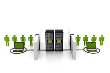 Network communication concept