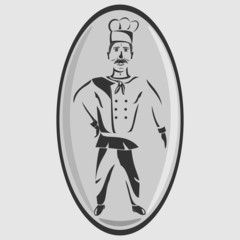 Restaurant chef icon