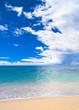 Heavenly Blue Serene Waters