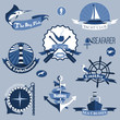 Sea Labels Set - 75993786