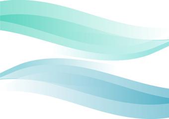 curve azzurro verde