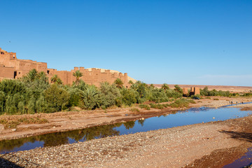 Ait Benhaddou, Ouarzazate (rivier)