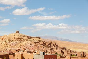 Ait Benhaddou village view on the old town