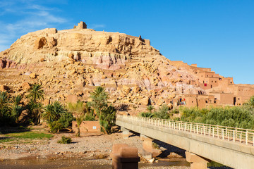Bridge to Ait Benhaddou Kasbah