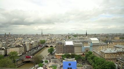 Cityscape of Paris,France