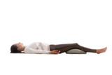 Yoga pose shavasana