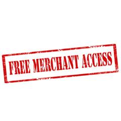 Free Merchant Access-stamp