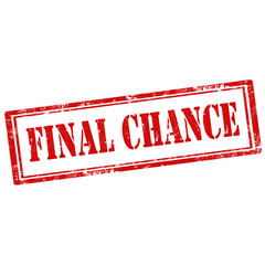 Final Chance-stamp