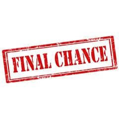 Final Chance-stamp