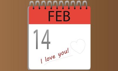 Stampa Biglietto Auguri 14 Febbraio Amore San Valentino