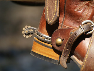 stivale da cowboy