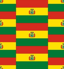 Bolivia flag texture vector