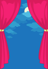 Curtain on the Night