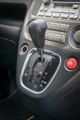Automatic transmission gear shift.