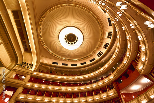 Balconies of Vienna Opera House - 76000745